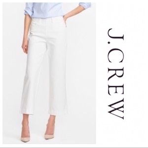 J. Crew Wide Leg Crop Jean